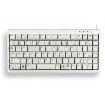 ML4100 - Keyboard - PS/2, USB - English - light gray