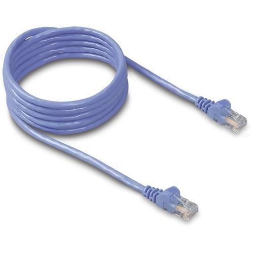Belkin patch cable - 2 ft - blue