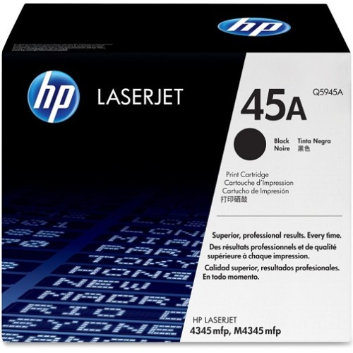 HP 5Pk Toner Cartridge Black 18K-Bdl Lj 4345 Mfp