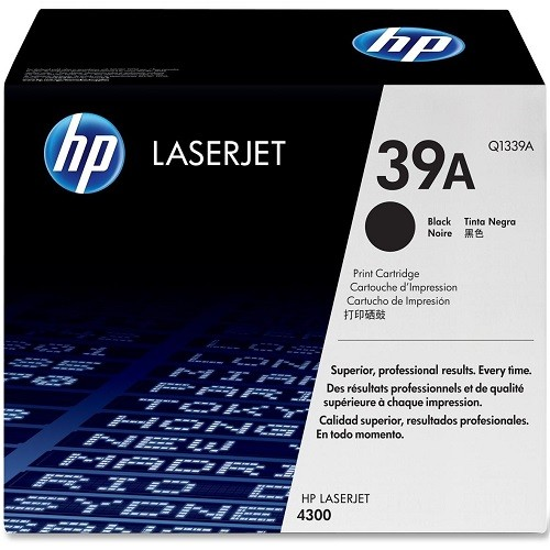 HP 5Pk Toner Cartridge Black 18K-Bdl Lj 4300