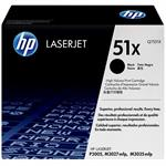 HP 51X High Yield Black Original LaserJet Toner Cartridge - 5 Pack Q7551X-BN