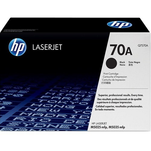 HP 5Pk Toner Cartridge Black 15K-Bdl Lj M5035 Mfp