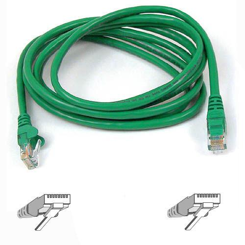 Belkin patch cable - 3 ft - green - B2B