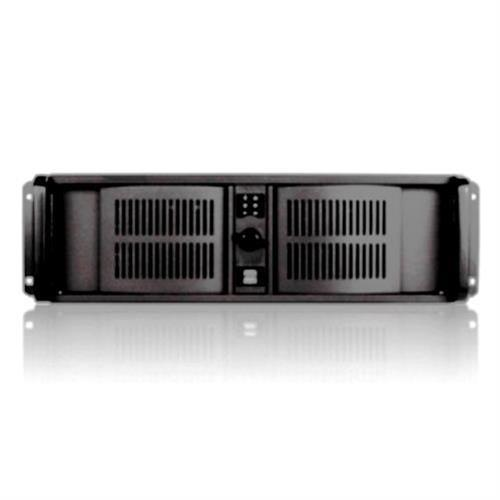 iStarUSA 3U Compact Stylish Rackmount Chassis Front-mounted ATX Power Supply