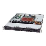"Supermicro SuperServer 6015C-UB - Server - rack-mountable - 1U - 2-way - RAM 0 MB - SATA - hot-swap 3.5"" - no HDD - DVD - ATI ES1000 - GigE - monitor: none"