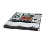 "Supermicro SuperServer 6015C-URB - Server - rack-mountable - 1U - 2-way - RAM 0 MB - SATA - hot-swap 3.5"" - no HDD - DVD - ATI ES1000 - GigE - monitor: none"