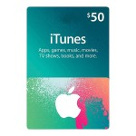 $50 iTunes Store Gift Card