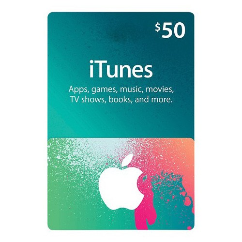iTunes $50 iTunes Store Gift Card