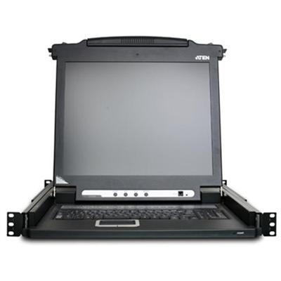 Aten Technology KVM Console Rack-mountable - TFT - 17