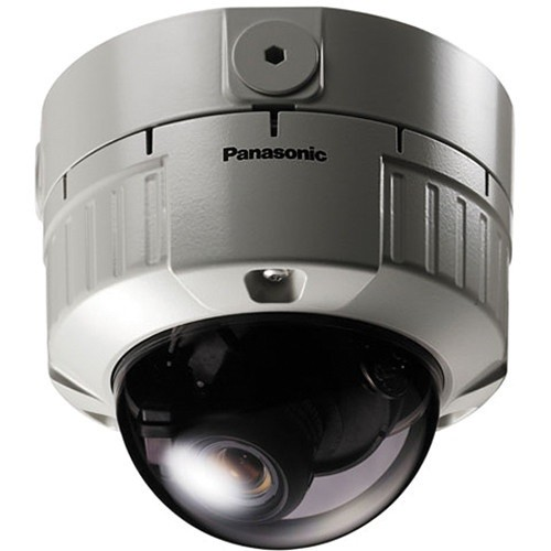 "Panasonic Vandal Proof 128x Super Dynamic III 1/3"" Color Dome Camera (Surface Mount)"