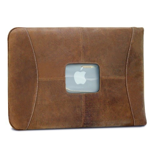 "MacCase 15"" MacBook Pro Premium Leather Sleeve - Vintage"