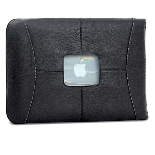 "MacCase 13"" MacBook Pro Premium Leather Sleeve - Black"
