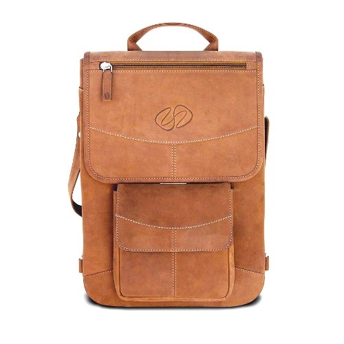 "MacCase 13"" Premium Leather Flight Jacket w/ Backpack Option for all 13"" MacBook Models - Vintage"