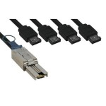 SAS external cable - 4x InfiniBand to 26 pin 4x Shielded Mini MultiLane SAS (SFF-8088) - 6.6 ft - for System Storage TS2340 Tape Drive; TS2900 Tape Autoloader; TS3200 Tape Library