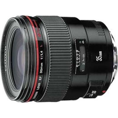 wide-angle lens - 35 mm