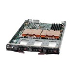 "Supermicro SuperBlade SBI-7425C-S3 - Server - blade - 2-way - RAM 0 MB - SAS - hot-swap 2.5"" - no HDD - ATI ES1000 - GigE - monitor: none"