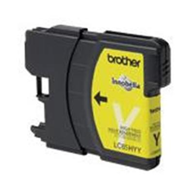 Brother Innobella High Yield Yellow Ink Cartridge for use with MFC-5890CN, MFC-6490CW Printer. In accordance with ISO/IEC 24711