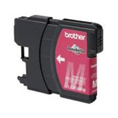 Brother Innobella High Yield Magenta Ink Cartridge for use with MFC-5890CN, MFC-6490CW Printer. In accordance with ISO/IEC 24711