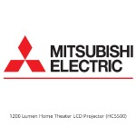 Mitsubishi 1200 Lumen Home Theater LCD Projector HC5500