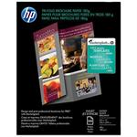 HP Inc. Inkjet Glossy Tri-fold Brochure Paper - 8.5 x 11 in (100 sheets) C7020A