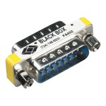 Black Box Serial gender changer - DB-15 (M) to DB-15 (M) FA450