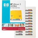 Ultrium 3 WORM Bar Code Label Pack