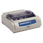Oki Microline 490 - Printer - monochrome - dot-matrix - Roll (10 in) - 240 x 216 dpi - 24 pin - up to 475 char/sec - parallel, USB 62418902