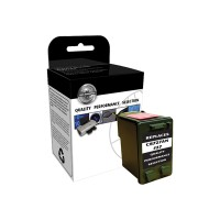 V7 Black - remanufactured - ink cartridge ( equivalent to: HP 27 ) - for HP Deskjet 36XX, 56XX; Fax 12XX; Officejet 42XX, 43XX, 56XX, J5508, J5520; psc 12XX, 13XX V7727A
