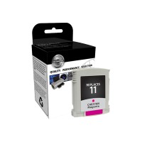 V7 Magenta - remanufactured - ink cartridge ( equivalent to: HP 11 ) - for HP Business Inkjet 1000, 1100, 1200, 2300, 2800; DesignJet 11X, 70; Officejet Pro K850 V7837A