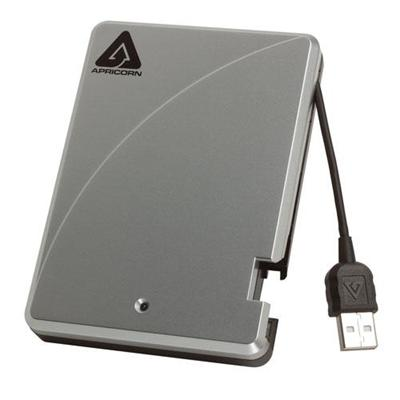 Apricorn Aegis Portable 500GB USB 2.0 External 2.5