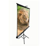 "113"" 80 x 80 Tripod Portable Diagonal Screen"