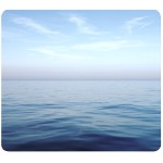 Recycled Mouse Pad Blue Ocean - Mouse pad - multicolor
