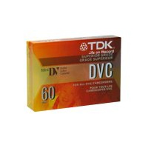 TDK DVC 60 Mini DV tape - 1 x 60min