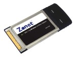 Zonet USA ZEW1505 - Network adapter - CardBus - 802.11b, 802.11g ZEW1505