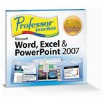 Professor Teaches Word, Excel & PowerPoint 2007 (Jewel Case Edition)