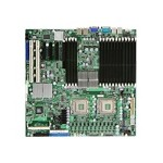 SUPERMICRO X7DWN+ - Motherboard - enhanced extended ATX - LGA771 Socket - 2 CPUs supported - i5400 - 2 x Gigabit LAN - onboard graphics