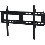 "SmartMount Universal Flat Wall Mount SF650 - Mounting kit (wall plate, security bracket) for LCD / plasma panel - steel - black - screen size: 37""-75"""
