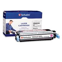 Verbatim HP CB403A Magenta Remanufactured Laser Toner Cartridge 96756