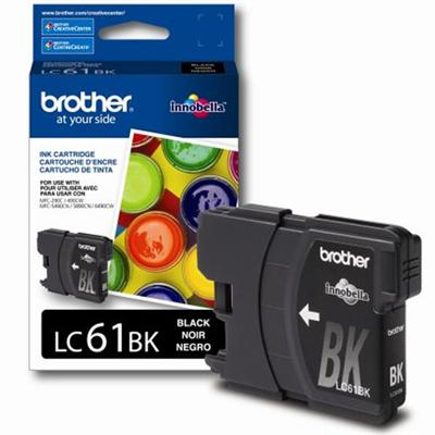 Brother Innobella Standard Yield Black Ink Cartridge (LC61BK)
