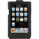 Eco-Conscious Leather Sleeve for iPod touch 2nd Generation - Black