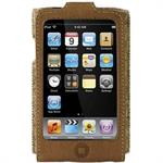 Eco-Conscious Leather Sleeve for iPod touch (2nd Generation - Walnut