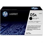 05A - Black - original - LaserJet - toner cartridge (CE505A) - for LaserJet P2033, P2035, P2036, P2037, P2054, P2055, P2056, P2057