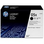 05X - High Yield - black - original - LaserJet - toner cartridge (CE505X) - for LaserJet P2054, P2055, P2056, P2057