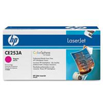 HP Inc. Color LaserJet CE253A Magenta Print Cartridge with HP ColorSphere Toner CE253A