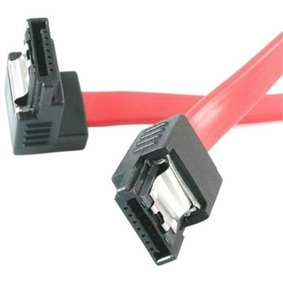 StarTech 12in Latching SATA to Right Angle SATA Serial ATA Cable (LSATA12RA1)