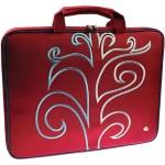 """Radical Street 15.4"""" Slim Laptop Case - Red"""