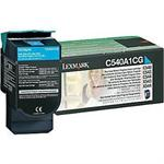 Cyan - original - toner cartridge LCCP, LRP - for C540, 543, 544, 546; X543, 544, 546, 548