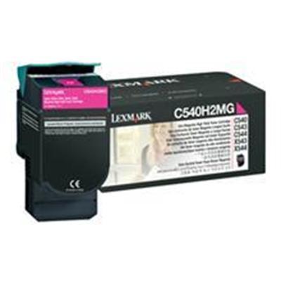 LexmarkHigh Yield - magenta - original - toner cartridge(C540H2MG)