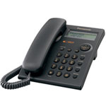 Panasonic KX-TSC11B - Corded phone with caller ID/call waiting - black KX-TSC11B