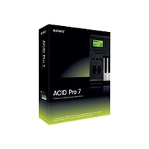 Sony Software ACID Pro ( v. 7 ) - box pack